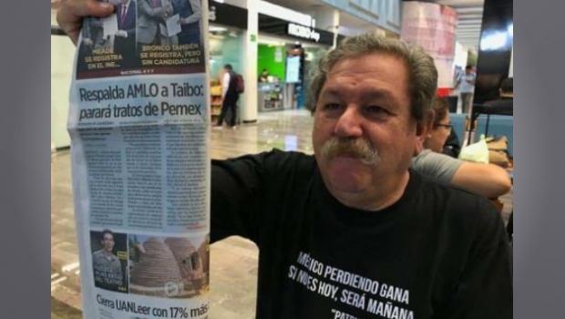 """""""Se las metimos doblada"""". – Paco Ignacio Taibo, nuevo director del Fondo de Cultura ('¿#&%) Económica"""